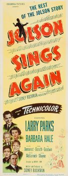 Jolson Sings Again - Movie Poster (xs thumbnail)