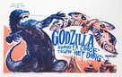 Mosura tai Gojira - Belgian Movie Poster (xs thumbnail)