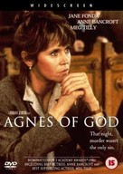 Agnes of God - British DVD cover (xs thumbnail)
