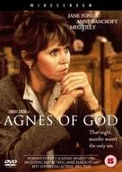 Agnes of God - British DVD movie cover (xs thumbnail)