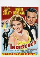 Indiscreet - Belgian Movie Poster (xs thumbnail)