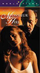 Monsieur Hire - VHS cover (xs thumbnail)