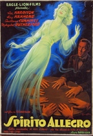 Blithe Spirit - Italian Movie Poster (xs thumbnail)