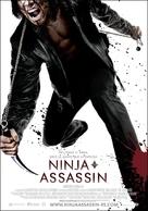 Ninja Assassin - Spanish Movie Poster (xs thumbnail)