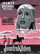 Jungfrukällan - Danish Movie Poster (xs thumbnail)