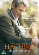 Hachiko: A Dog's Story - Danish Movie Cover (xs thumbnail)