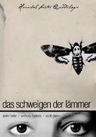The Silence Of The Lambs - German DVD movie cover (xs thumbnail)