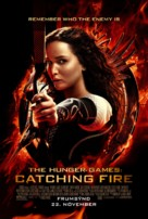 The Hunger Games: Catching Fire - Icelandic Movie Poster (xs thumbnail)