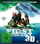 First Descent - German DVD cover (xs thumbnail)