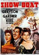 Show Boat - Belgian Movie Poster (xs thumbnail)