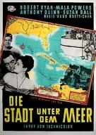 City Beneath the Sea - German Movie Poster (xs thumbnail)