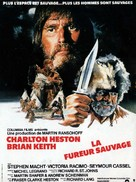 The Mountain Men - French Movie Poster (xs thumbnail)