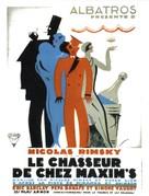 Le chasseur de chez Maxim's - French Movie Poster (xs thumbnail)
