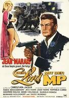 Le Saint prend l'affût - German Movie Poster (xs thumbnail)