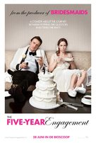 The Five-Year Engagement - Dutch Movie Poster (xs thumbnail)