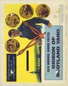 Gideon's Day - British Movie Poster (xs thumbnail)