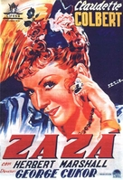 Zaza - Spanish Movie Poster (xs thumbnail)