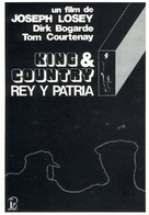 King & Country - Spanish Movie Poster (xs thumbnail)