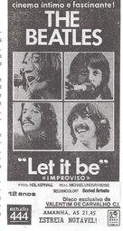 Let It Be - Portuguese poster (xs thumbnail)