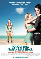 Forgetting Sarah Marshall - British Movie Poster (xs thumbnail)
