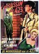 Pushover - Belgian Movie Poster (xs thumbnail)