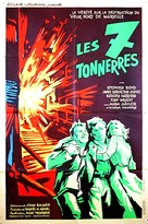 Seven Thunders - French Movie Poster (xs thumbnail)
