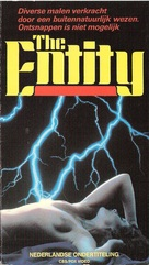 The Entity - Dutch VHS movie cover (xs thumbnail)