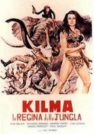Kilma, reina de las amazonas - Italian DVD cover (xs thumbnail)