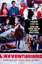 L'avventuriero - Italian Movie Poster (xs thumbnail)