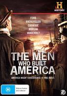 """The Men Who Built America"" - Australian DVD cover (xs thumbnail)"