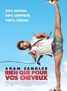 You Don't Mess with the Zohan - French Movie Poster (xs thumbnail)