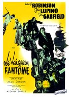 The Sea Wolf - French Movie Poster (xs thumbnail)