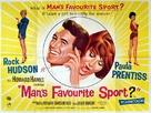 Man's Favorite Sport? - British Movie Poster (xs thumbnail)