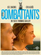 Les combattants - French Movie Poster (xs thumbnail)