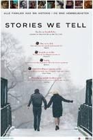 Stories We Tell - Norwegian Movie Poster (xs thumbnail)