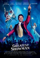 The Greatest Showman - Dutch Movie Poster (xs thumbnail)