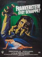 The Curse of Frankenstein - French Movie Poster (xs thumbnail)