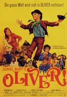 Oliver! - German Movie Poster (xs thumbnail)