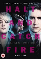 """Halt and Catch Fire"" - British DVD cover (xs thumbnail)"
