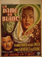 The Woman in White - Belgian Movie Poster (xs thumbnail)