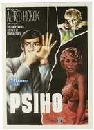 Psycho - Romanian Movie Poster (xs thumbnail)