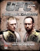 UFC 116: Lesnar vs. Carwin - Canadian Movie Poster (xs thumbnail)