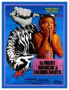 La morte cammina con i tacchi alti - French Movie Poster (xs thumbnail)
