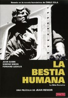 La bête humaine - Spanish Movie Cover (xs thumbnail)