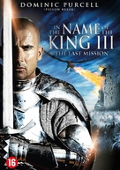 In the Name of the King 3: The Last Mission - Dutch DVD movie cover (xs thumbnail)