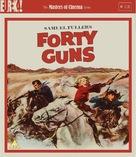 Forty Guns - British Blu-Ray cover (xs thumbnail)