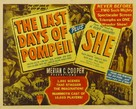 The Last Days of Pompeii - Re-release movie poster (xs thumbnail)