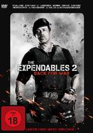 The Expendables 2 - German DVD movie cover (xs thumbnail)