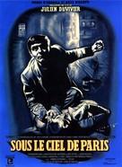 Sous le ciel de Paris - French Movie Poster (xs thumbnail)