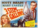 Three Steps to the Gallows - British Movie Poster (xs thumbnail)
